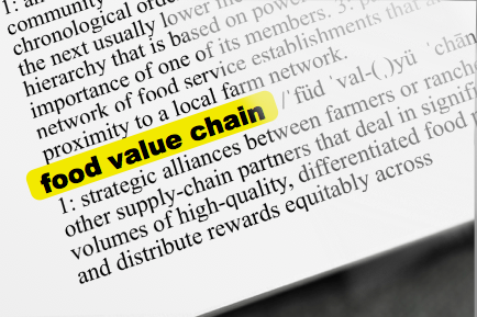 Good Food Glossary: Supply Chain vs. Value Chain